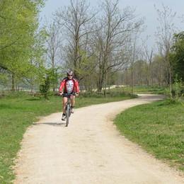 Martinengo, ciclabile nel parco  Spazio per pedalate e pic nic
