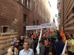 I leghisti bergamaschi a Verona