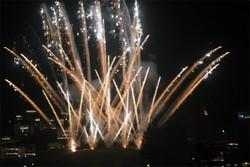 I fuochi d'artificio per la Sacra Spina