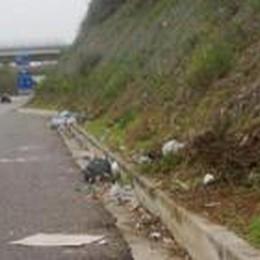 Rifiuti buttati in strada:  ripulire costa 35 mila euro