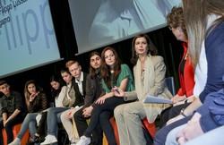 Laura Boldrini incontra gli studenti bergamaschi