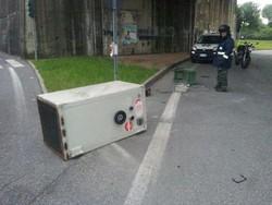 La cassaforte persa per strada