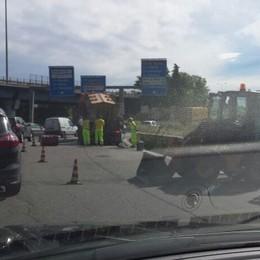 Cantiere al casello dell'A4 Forti rallentamenti e traffico