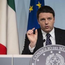 Casini, Carfagna e il premier Renzi I big della politica a Bergamo