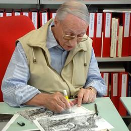 Addio ad Ilio Manfredotti  storico disegnatore de L'Eco