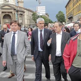 Casini lancia Tentorio verso il bis  «Bergamo esperimento politico»