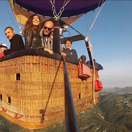 Emilia, merenda in quota  con i voli in mongolfiera