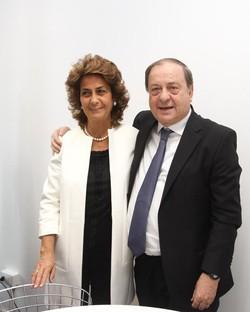 Angela tentorio con il marito Franco