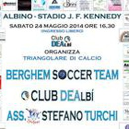 Atalanta Club DEAlbì  triangolare benefico