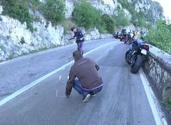 L'incidente di Tremosine (foto Giornale di Brescia)