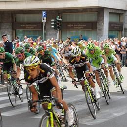 Il Giro è passato da Bergamo  Da Brembate 62 km fino a Rogno