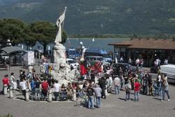 I manifestanti di sinistra a Lovere