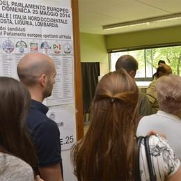 Votanti in calo nella Bergamasca    71,48% Europee, 73,53% Comunali