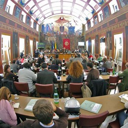 Ecco la possibile composizione dell'aula con una maggioranza a 19 consiglieri