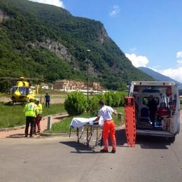 Cade dalla bici da corsa a Sarnico Grave 52enne di Entratico