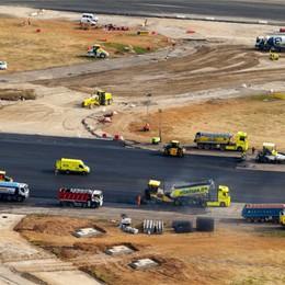 Ecco la nuova pista dell'aeroporto  E i lavori finiscono pure in anticipo