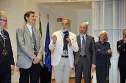 Il professor Giuseppe Remuzzi, di Bergamo, vincitore del premio Rosa Camuna
