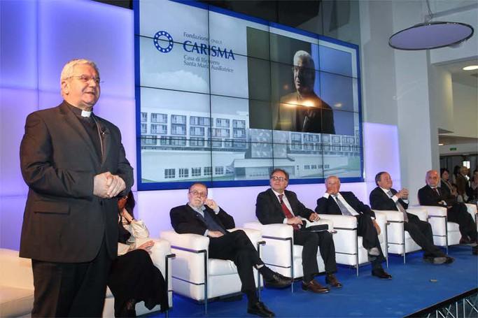 Casa di riposo Carisma: l'inaugurazione
