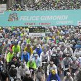 Granfondo Gimondi con il sole  Iscrizioni chiuse: in 2.206 al via