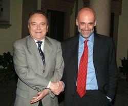 Cesare Veneziani e Roberto Bruni, il duello del 2004