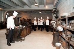 La visita al museo degli strumenti di cottura