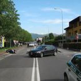 Cassinone, scooter contro auto Grave un 63enne di Seriate