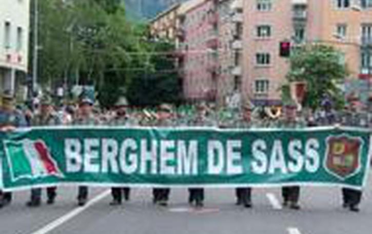 Alpini, adunata a Pordenone Da Bergamo partono in 4 mila