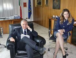 Fortunato Finolli con il capo di gabinetto Francesca Ferraro