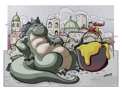 Un disegno di Luca Rota Nodari