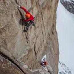 Quattro giorni con grandi alpinisti  Favresse e Villanueva a Bergamo