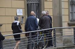 L'ingresso dell'ufficio Tributi