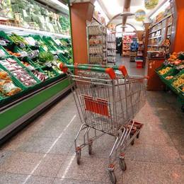 Fare la spesa? A Bergamo costa meno  Calo del 6,7% sulla media lombarda