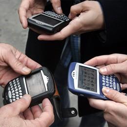 Il venerdì 13 colpisce Wind: rete ko  Difficoltà per telefonate e internet