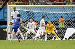 Il gol di Marchisio: Italia in vantaggio 1 a 0