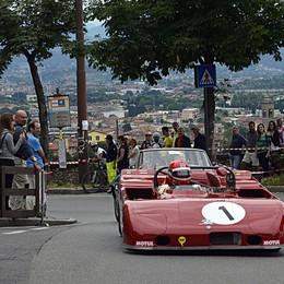Historic Grand Prix di Bergamo Bolidi in pista sotto la pioggia