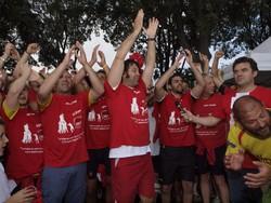 Rugby Bergamo, i festeggiamenti