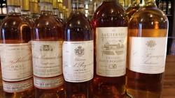 I cinque Sauternes degustati dai soci Ais.
