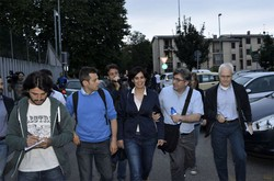 L'avvocato assegnato d'ufficio Silvia Gazzetti tra i giornalisti