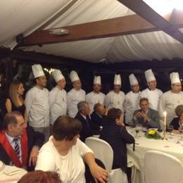 Bergamo al raduno  dei cuochi lombardi