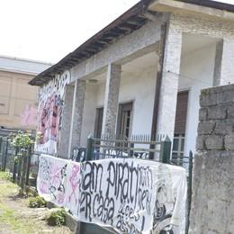 Terza casa occupata a Bergamo A Redona in 15 nella «Piraten Etxea»