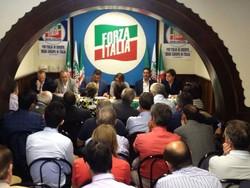La riunione di Forza Italia