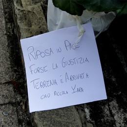Un biglietto sulla tomba di Yara  «Giustizia terrena è arrivata»