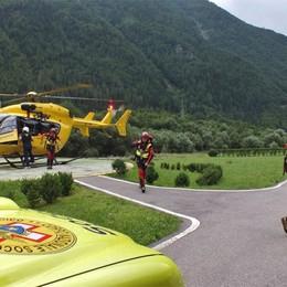 Presolana e Valbondione, due feriti  Soccorso alpino in  azione