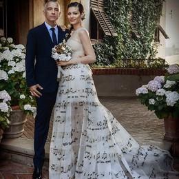 Eros e Marica, la festa per le nozze Amici, parenti e molto glamour