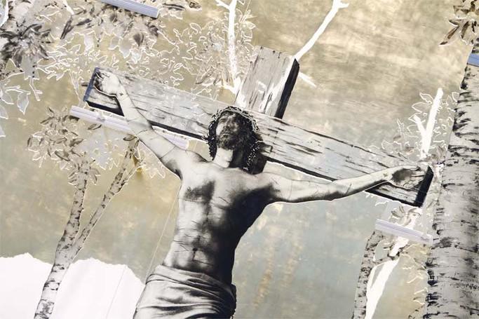 La chiesa dell'ospedale Papa Giovanni XXIII
