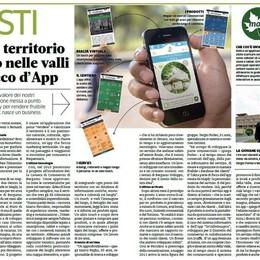Il turismo locale  in un touch d'app
