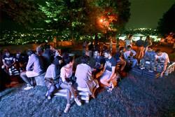 Giovani al parco di Sant'Agostino
