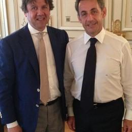 In Francia camicie made in Bg  Chi le indossa? Nicolas Sarkozy