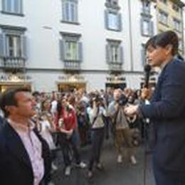 Serracchiani: Gori il nostro sindaco  Tentorio in tv: «Ma lui non è Renzi»