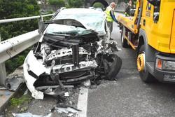 L'incidente stradale a Botta di Sedrina